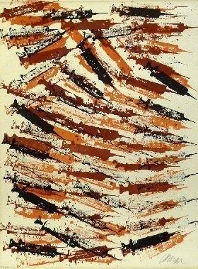 Lithographie Arman - Seringues