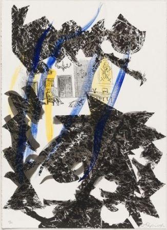 Lithographie Benglis - Set SPANISH STEPS