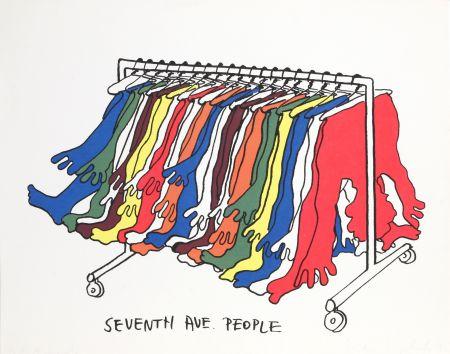 Sérigraphie Kogelnik - Seventh Avenue People