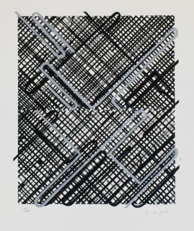 Lithographie Moses - Shago 3