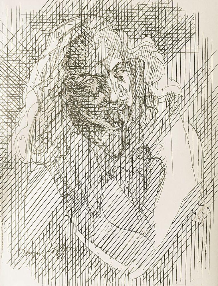 Lithographie Villon - Shakespeare
