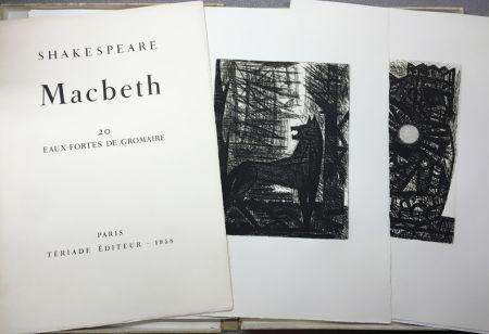 Gravure Gromaire - SHAKESPEARE, William: MACBETH.