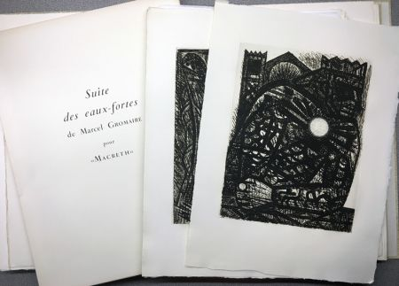Livre Illustré Gromaire - SHAKESPEARE, William: MACBETH. Avec double suite.
