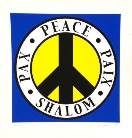 Sérigraphie Indiana - Shalom, Peace