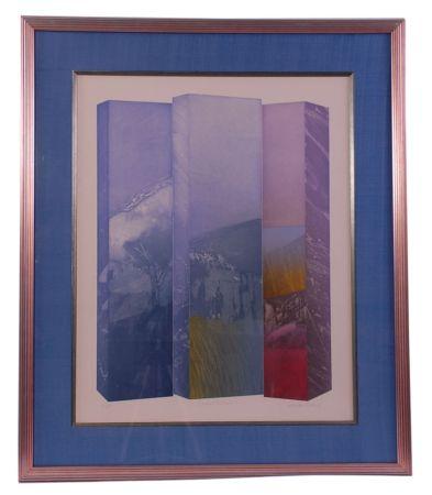 Eau-Forte Ware - Shaped Triptych I