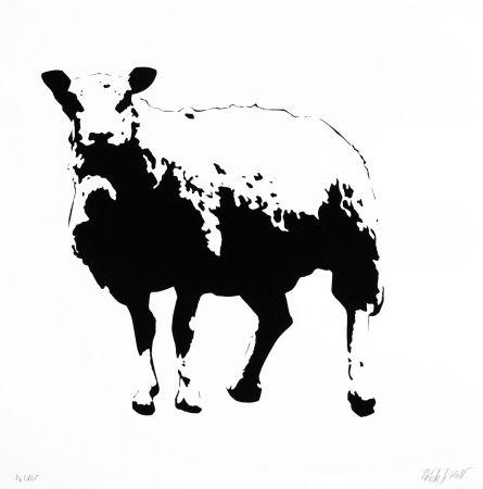 Sérigraphie Le Rat - Sheep