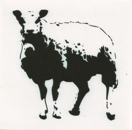 Sérigraphie Blek Le Rat - Sheep (baah)