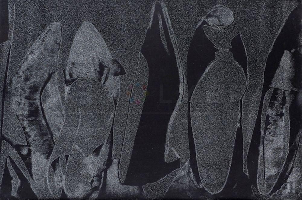 Sérigraphie Warhol - Shoes (FS II.256)
