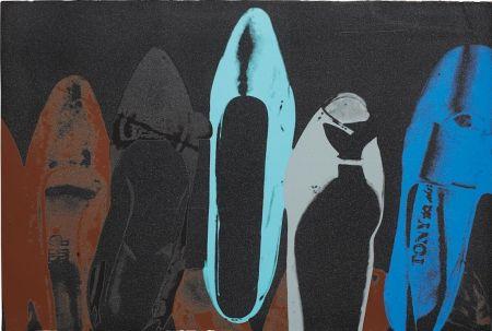 Sérigraphie Warhol - Shoes (FS II.257)
