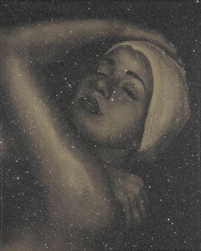 Lithographie Feuerman - SHOWER PORTRAIT (GOLD)