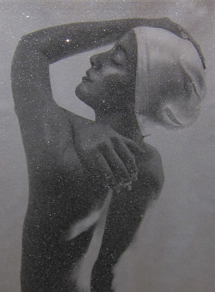 Lithographie Feuerman - SHOWER PROFILE (SILVER)