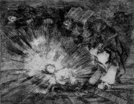 Eau-Forte Et Aquatinte Goya - Si resuscitarà