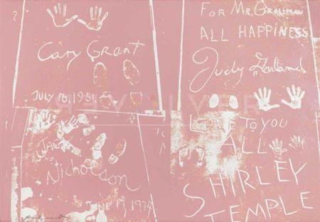 Sérigraphie Warhol - Sidewalk (FS II.304)