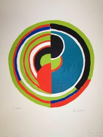 Lithographie Delaunay - Signal