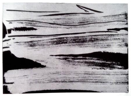 Eau-Forte Et Aquatinte Debré - Signe-paysage IV