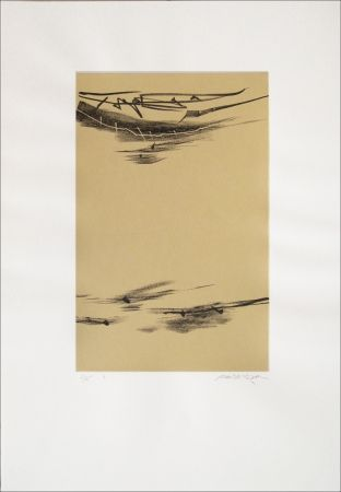 Lithographie Baltazar - Signes espaces 10