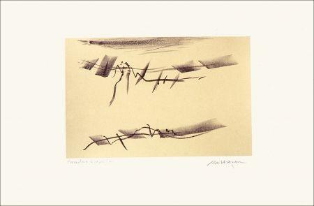 Lithographie Baltazar - Signes espaces 6