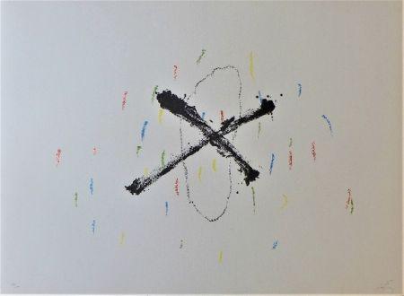 Lithographie Tàpies - Silenci