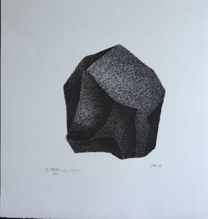 Lithographie Ubac - Silex III