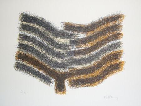 Lithographie Ubac - Sillon