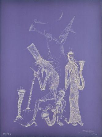 Eau-Forte Ponç - Simfonia violeta
