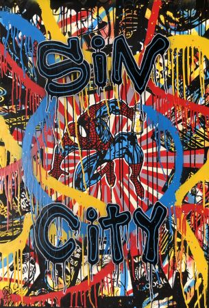 Sérigraphie Speedy Graphito - Sin City