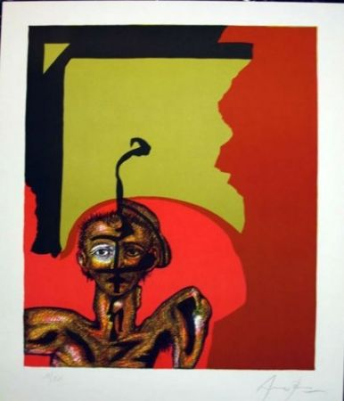 Lithographie Arranz-Bravo - Sin Título