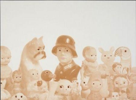 Lithographie Porter - Sin título con nazi