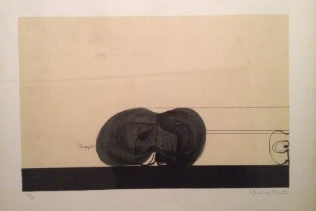 Lithographie Hernandez Pijuan - Sin Titulo