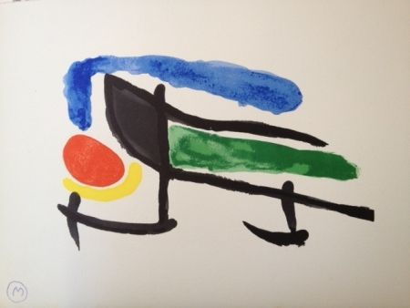 Lithographie Miró - Sin Titulo