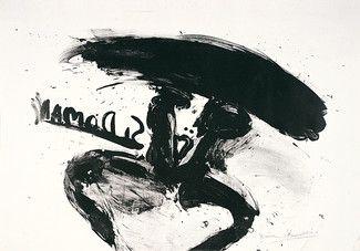 Lithographie Kounellis - Sin titulo