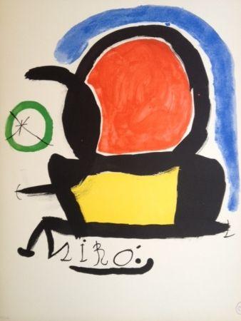 Lithographie Miró - Sin Ttitulo