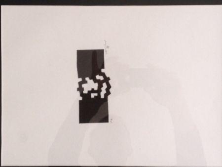 Lithographie Chillida - Sin Ttitulo
