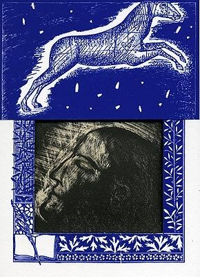 Lithographie Paladino - Sipario