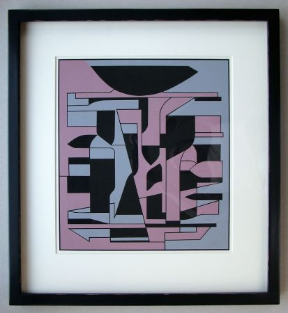 Sérigraphie Vasarely - Siris Ii