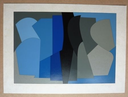 Sérigraphie Vasarely - Siris Kek