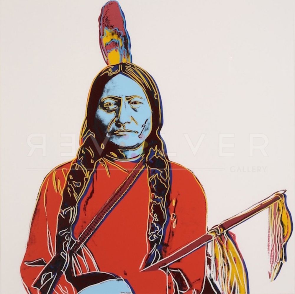 Sérigraphie Warhol - Sitting Bull (FS IIA.70)