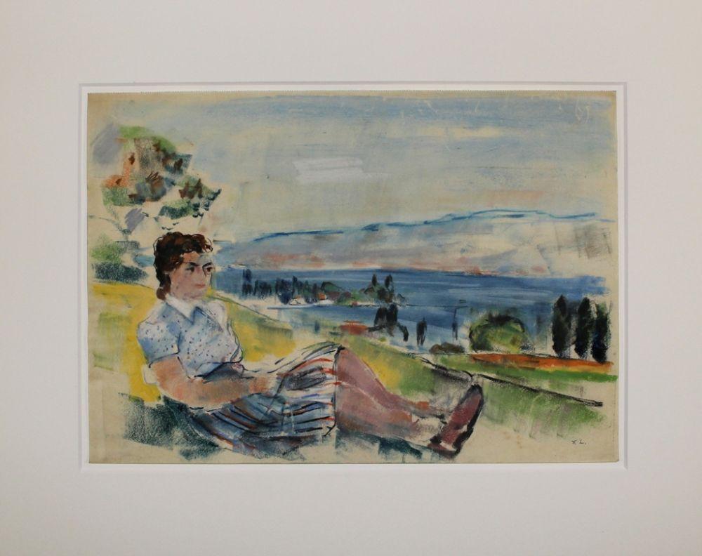 Aucune Technique Ludwig - Sitzende vor See