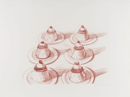 Gravure Thiebaud - Six Desserts, from Recent Etchings II