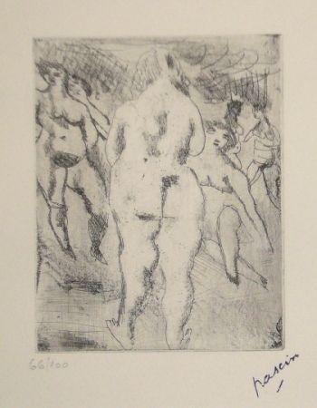 Pointe-Sèche Pascin - Six Femmes nues
