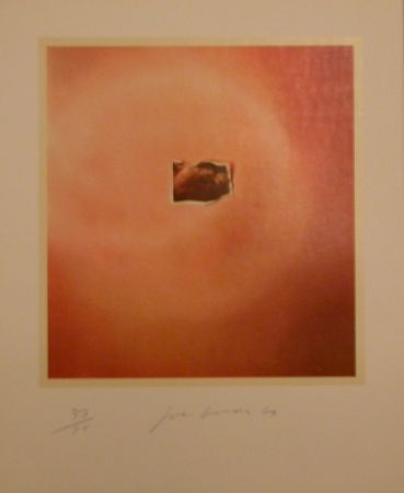 Lithographie Goode - Six Lithographs (creased photo on orange background)
