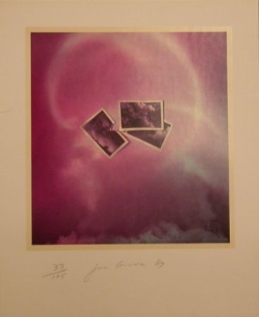 Lithographie Goode - Six Lithographs. (three photos on purple background)