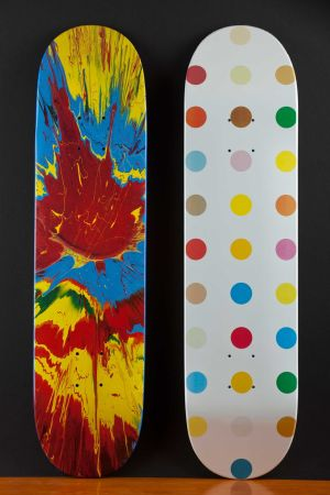 Multiple Hirst - Skateboards