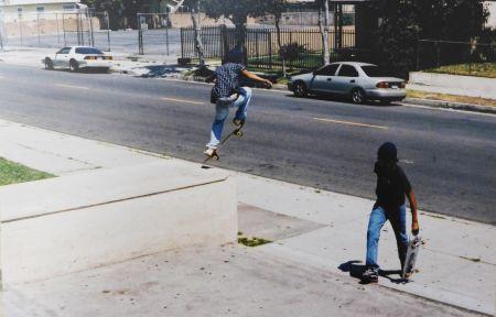 Photographie Clark - Skaters (Wassup Rockers)