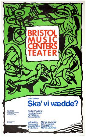 Affiche Alechinsky - Ska'vi vædde ?, Mark Medoff, 1977
