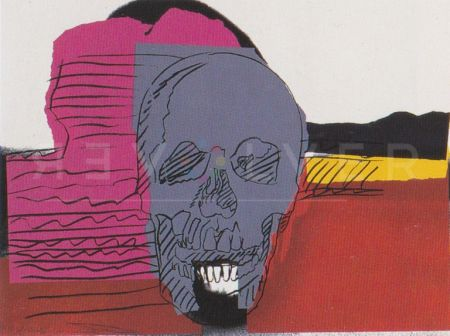 Sérigraphie Warhol - Skull (Fs Ii.159)