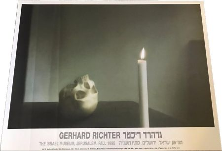 Affiche Richter - Skull with Candle