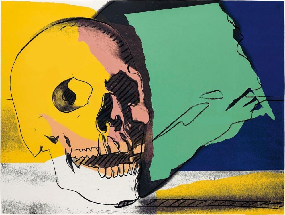 Sérigraphie Warhol - Skulls (FS II.158)