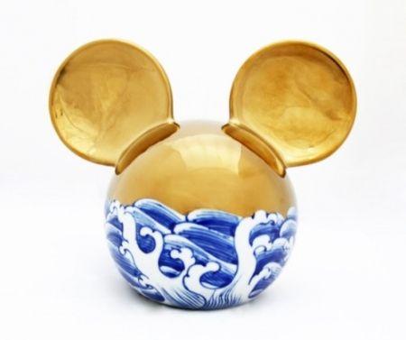 Céramique Lihong - Small Mickey – gold