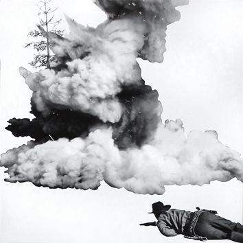 Lithographie Baldessari - Smoke, Tree, Shadow and Person